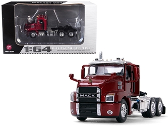 Mack Anthem Day Cab Lacquer Red 1/64 Diecast Model by First Gear, First Gear Item Number 60-0407
