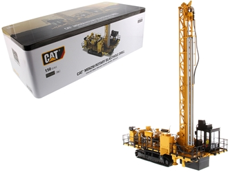 "CAT Caterpillar MD6250 Rotary Blasthole Drill with Operator ""High Line Series"" 1/50 Diecast Model by Diecast Masters by Diecast Masters Item Number 85581"