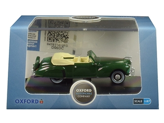 1941 Lincoln Continental Convertible Spode Green 1/87 by Oxford Diecast Item number 87LC41002