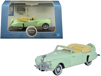1941 Lincoln Continental Convertible Paradise Green 1/87 by Oxford Diecast Item number 87LC41005