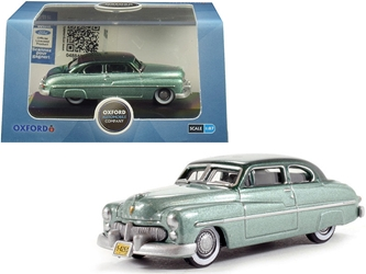 1949 Mercury Coupe Metallic Green with Dark Green Top 1/87 by Oxford Diecast Item number 87ME49001