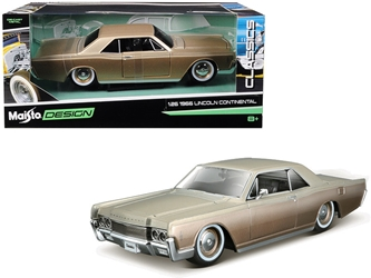 "1966 Lincoln Continental Gold ""Classic Muscle"" 1/26 by Maisto Item Number: MST32531GLD"