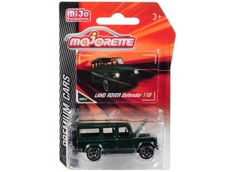 "Land Rover Defender 110 Metallic Green ""Premium Cars"" 1/60 by Majorette Item Number: 3052MJ6"