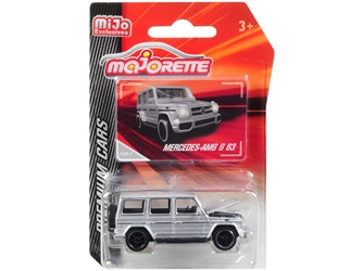 "Mercedes AMG G 63 Silver ""Premium Cars"" 1/61 by Majorette Item Number: 3052MJ8"
