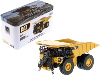 "CAT Caterpillar 793F Mining Truck with Operator ""High Line"" Series 1/125 Diecast Model by Diecast Masters"