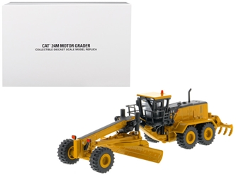 "CAT Caterpillar 24M Motor Grader ""Elite Series"" 1/125 by Diecast Masters"