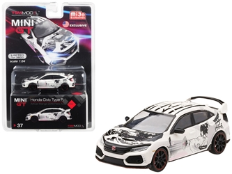 Honda Civic Type R (FK8) ArtCar Manga 2018 Paris Auto Show Limited Edition to 3,600 pieces Worldwide 1/64