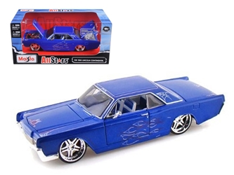 "1966 Lincoln Continental Blue ""Pro Rodz"" (1:26) , Maisto Item Number MST31037BL"