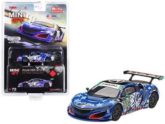 "Acura NSX GT3 #93 ""Statue of Liberty"" 2017 IMSA Watkins Glen Limited Edition to 3,600 pieces Worldwide 1/64"