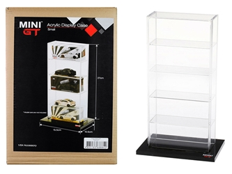 "5 Car Acrylic Display Show Case Small ""Mini GT"" for 1/64"