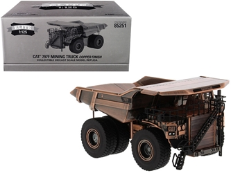 "CAT Caterpillar 797F Mining Truck Copper Finish ""Elite Series"" 1/125"