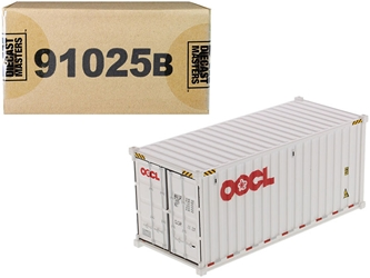 "20 Dry Goods Sea Container ""OOCL"" White ""Transport Series"" 1/50"