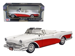 1957 Buick Roadmaster Convertible Red 1/18