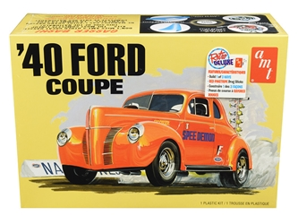 Skill 2 Model Kit 1940 Ford Coupe 3 in 1 Kit 1/25 by AMT <p> Item Number: AMT1141M