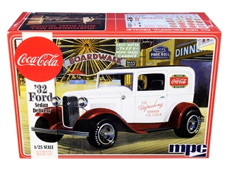 "Skill 3 Model Kit 1932 Ford Sedan Delivery ""Coca-Cola"" 1/25 by MPC <p> Item Number: MPC902"