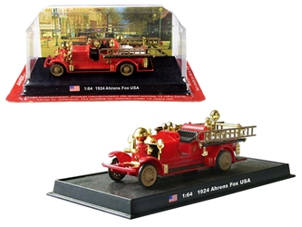 1924 Ahrens Fox Fire Engine 1/64 by Amercom <p> Item Number: ACSF28