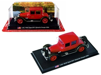 "1918 Cadillac Type E57 Victoria Coupe ""Fire Chief"" 1/43y Amercom by Amercom <p> Item Number: ACSF50"