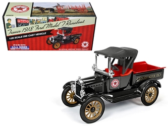 "1918 Ford Model T Runabout ""Texaco"" 2nd in the USA Series (1:25) , Auto World Item Number CP7320"