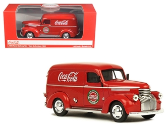 1945 Coca Cola Panel Delivery Van 1/43 Diecast Model Car by Motorcity Classics, Motorcity Classics Item Number 443045