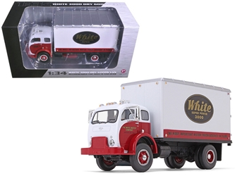 1953 White Super Power 3000 COE Delivery Van 1/34 Diecast Model Car by First Gear, First Gear Item Number 797966