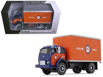 1953 White 3000 COE Delivery Van Allis-Chalmers Parts & Service 1/34 Diecast Model Car by First Gear, First Gear Item Number 798331