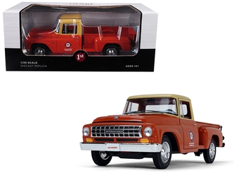 "International Allis Chalmers C1100 ""Parts & Service"" Pickup Truck Copper 1/25 Diecast Model Car by First Gear, First Gear Item Number 40-0419"