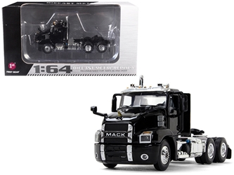 Mack Anthem Day Cab Black 1/64 Diecast Model by First Gear, First Gear Item Number 60-0406