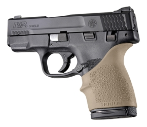 Hogue HAll Beavertail Grip Sleeve S&W M&P Shield 45 Kahr P9 P40 CW9 CW40 Flat Dark Earth by Hogue Item Number 18303