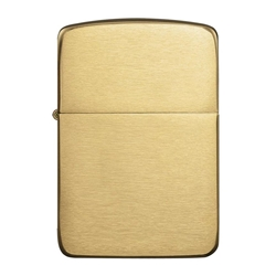 Zippo Windproof Lighter 1941 Replica Brushed Brass by Zippo Item Number 1941B
