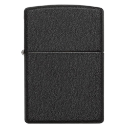 Zippo Windproof Lighter Black Crackle by Zippo Item Number 236