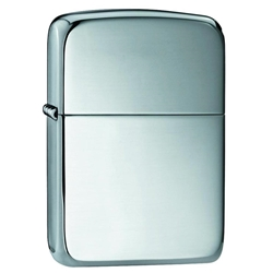Zippo Windproof Lighter 1941 Replica High Polish Sterling Silver by Zippo Item Number 23
