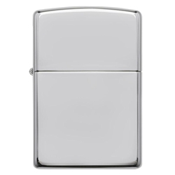 Zippo Windproof Lighter Armor High Polish Sterling Silver by Zippo Item Number 26