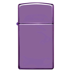 Zippo Windproof Lighter Abyss Finish Slim Case by Zippo Item Number 28124