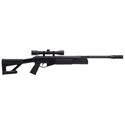 Crosman TR77NPS (Black)Nitro Piston Powered Break Barrel Tactical Air Rifle with 4x32 Scope by Crosman Item Number 30131