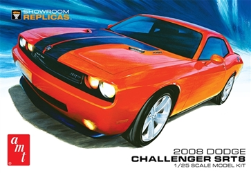 08 Dodge Challenger Srt8 1:25, AMT Plastic Model Kits Item Number AMT1075