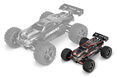 E-Revo Brushed 4wd Truck 1:16, Traxxas Radio Control Item Number TRX71054-1