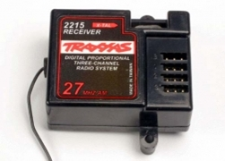 Receiver 3-Channel, Traxxas Radio Control Item Number TRX2215