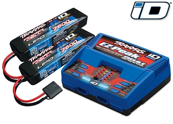 Battery 7600mAh 7.4V/Charger, Traxxas Radio Control Item Number TRX2991
