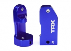 Caster Blocks 30deg Blue Anod, Traxxas Radio Control Item Number TRX3632A