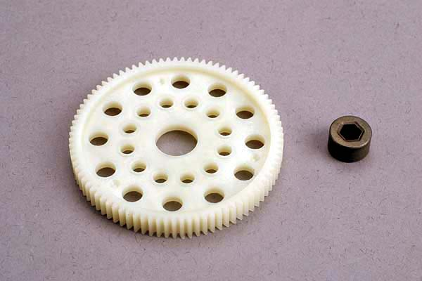 87T 48P Spur Gear, Traxxas Radio Control Item Number TRX4687
