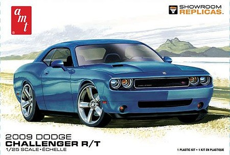09 Dodge Challenger R/T, AMT Plastic Model Kits, Item Number AMT1117