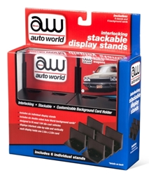 Stacking Display Stand 6-Pack 1:64 by Auto World Item Number AWAWDC017