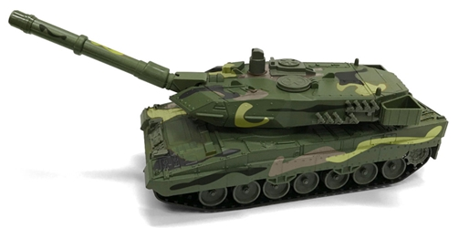Military Tank in Woodland Camo Auto World Military Series 1:40 by Auto World Item Number AWAWML004-A
