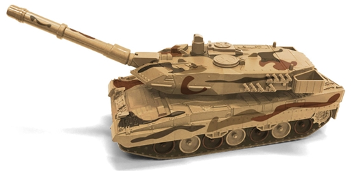 Military Tank in Desert Camo Auto World Military Series 1:40 by Auto World Item Number AWAWML004-B
