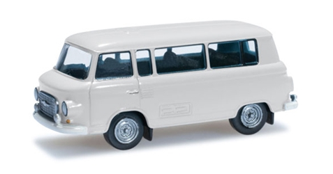 Barkas B 1000 Bus in Grey White (1:120), Herpa Item Number HE066211