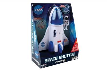 Space Adventure Space Shuttle by Realtoy Diecast Toys