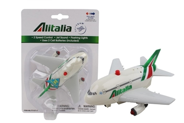 Alitalia Pullback W/Light & Sound