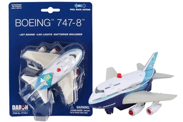 Boeing Pullback with Lights & Sound New Livery